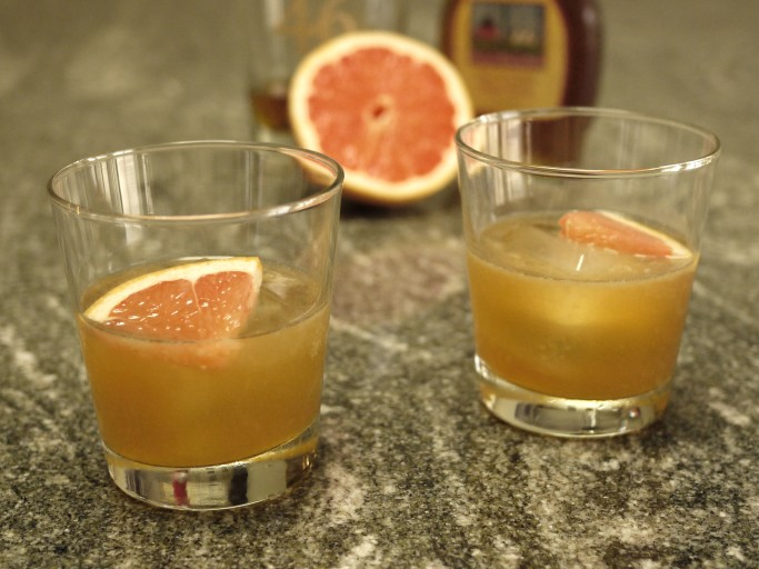 Maple Brown Derby cocktail