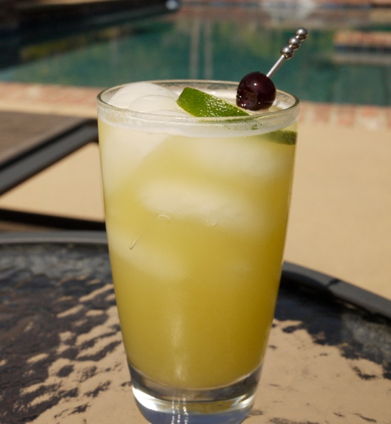 Oahu Spritzer non-alcoholic drink