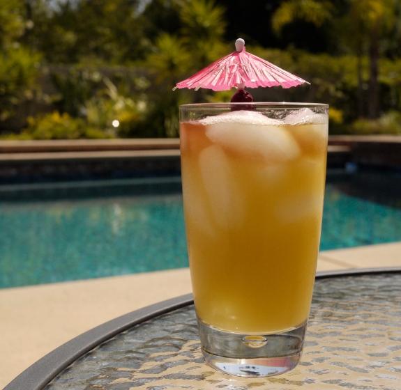 big freakin' rum drink