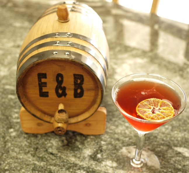 barrel and aged negroni