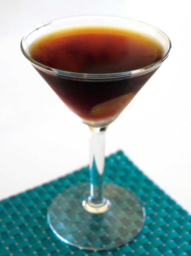 early martini cocktail