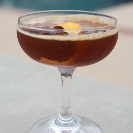Coffee Negroni cocktail